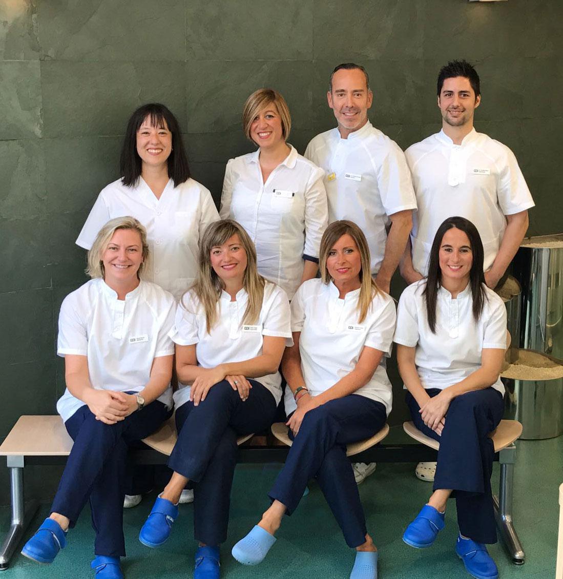equipo clínica odontológica integral dr arias gijon