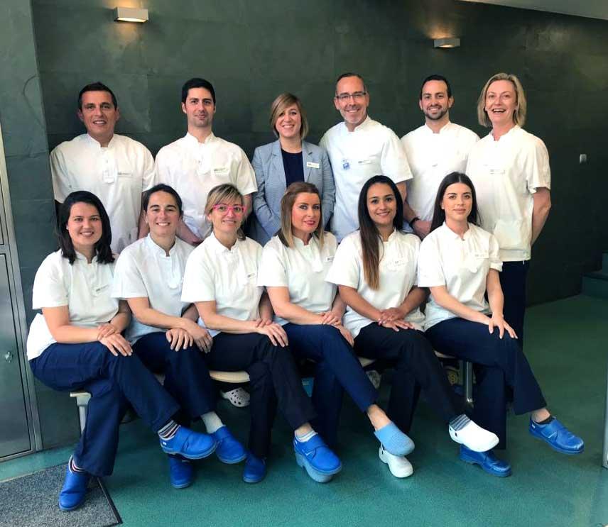 equipo Clínica Odontológica Integral Dr. Arias
