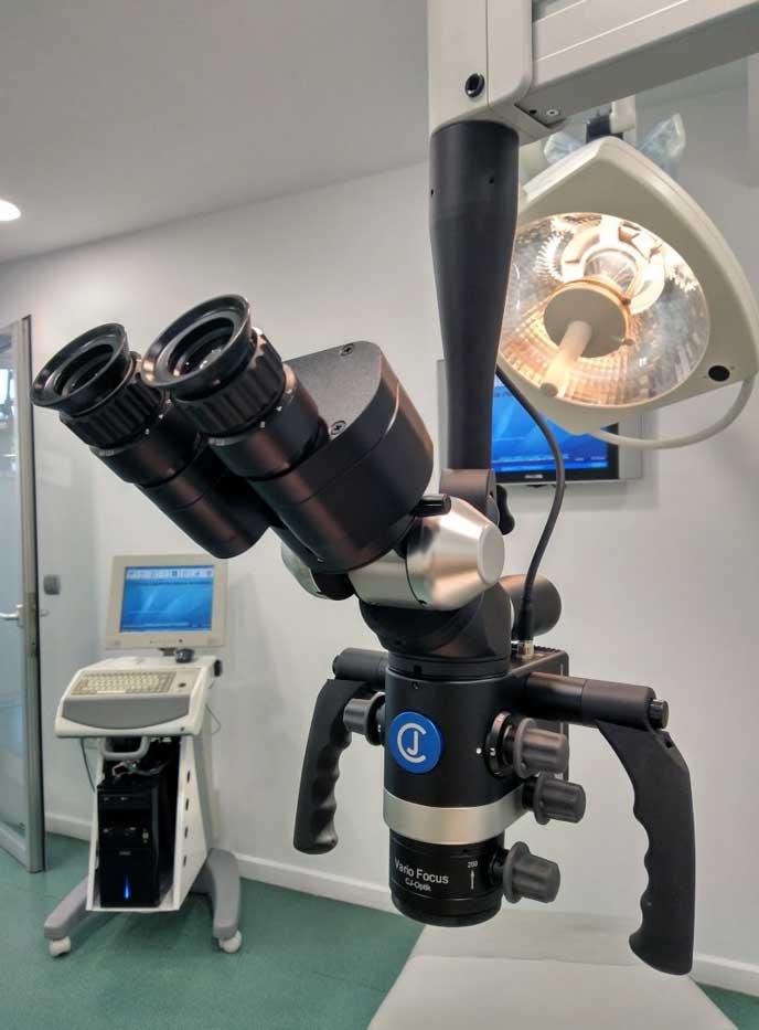 microscopio endodoncia clinica dental gijon