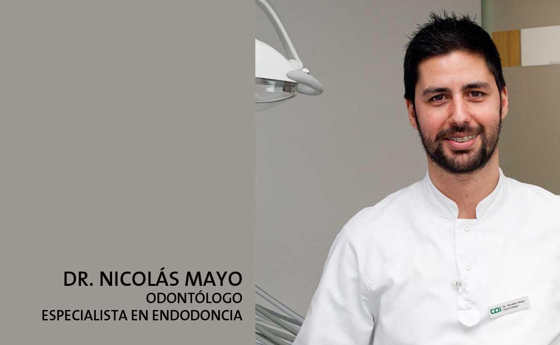 Dr. Nicolás Mayo dentista especialista endodoncia Gijón